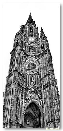 Torre da catedral de San Sebastian by VRfoto
