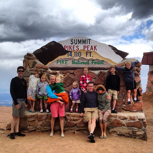 Harris crews on Pike's Peak