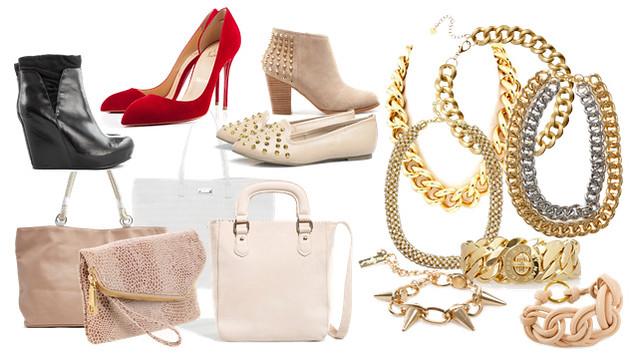 boty kabelky zlato