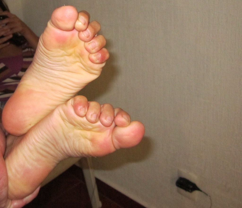 Sexy Wrinkled Female Feet - A Photo On Flickriver-8652