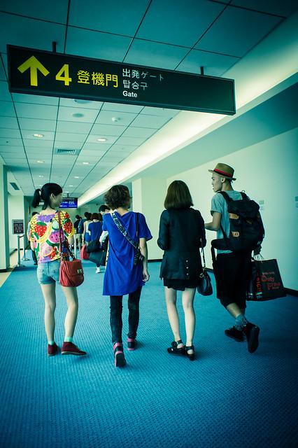 松山機場登機口