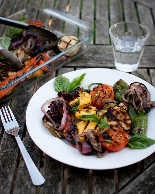 Veggie BBQ with Polenta