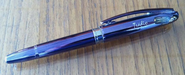 Pentel Tradio Fountain pen, Black Pearl Finish