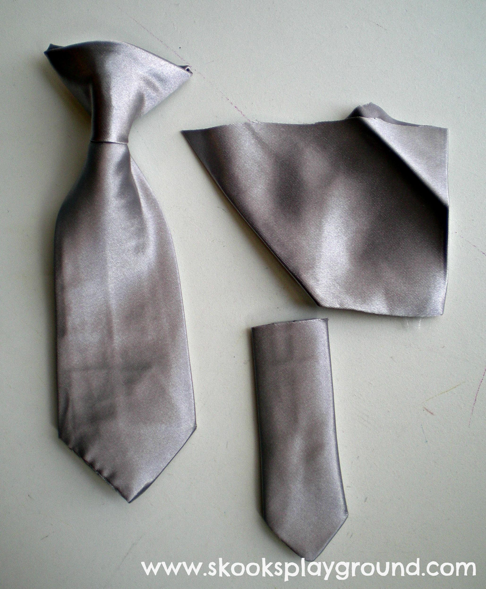 Deconstructed Reconstructed Tie