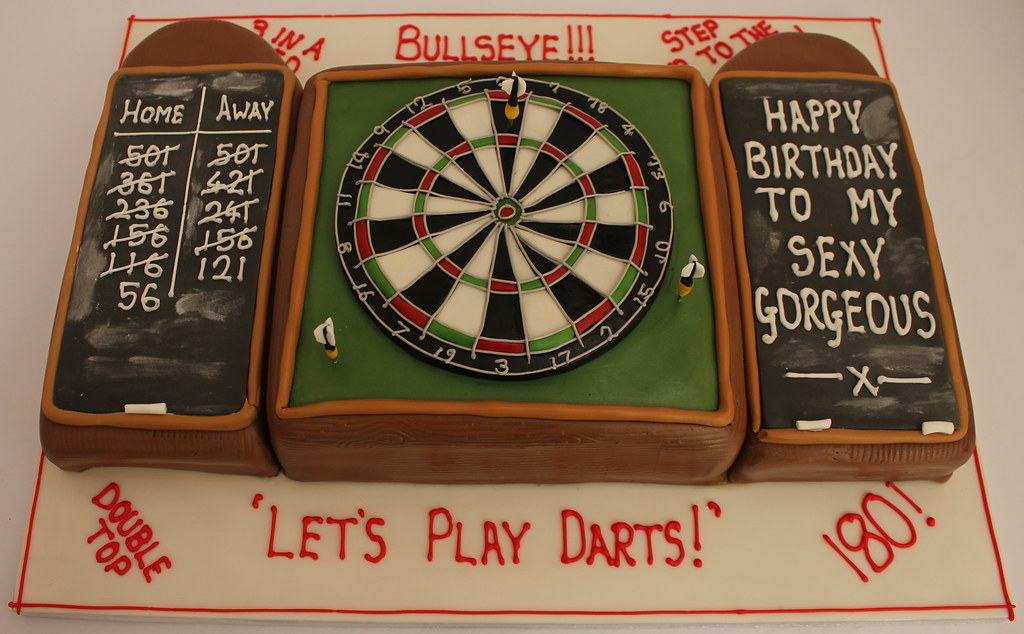 Dartboard Birthday Cake A Photo On Flickriver