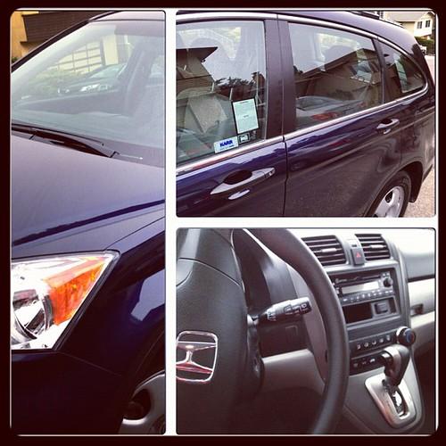 Clean Honda CRV