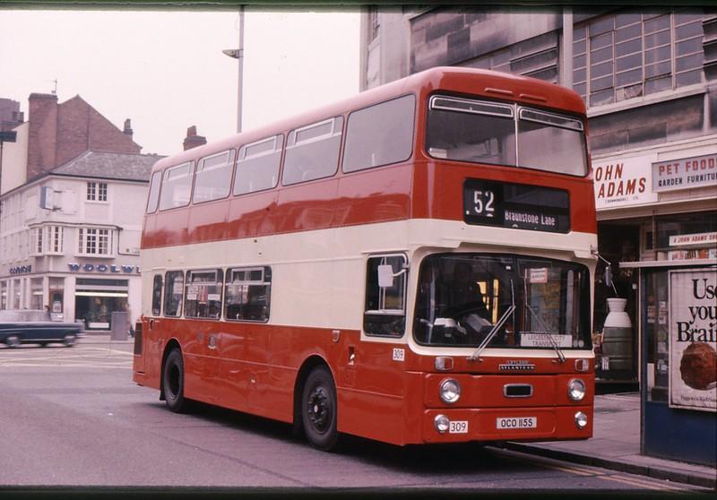 Plymouth 115 as Leicester 309 030478 KA2614