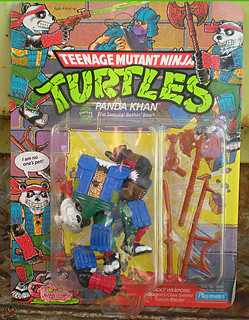 TEENAGE MUTANT NINJA TURTLES :: PANDA KHAN / SCRAMBLED VARIANT i (( 1990 ))
