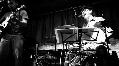 Samm Bennett Drums, Ken Shima Guitar, Medicine Bone