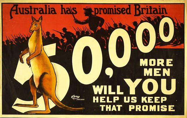 Recruiting Poster, Australia