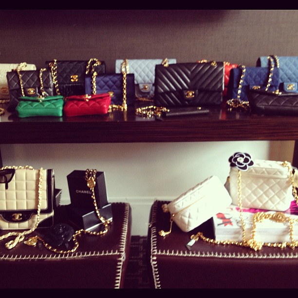 A never ending collection of vintage #Chanel items @shopedropoff #nyfw