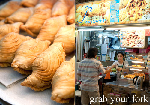 curry puff from amoy street food centre hawker market singapore