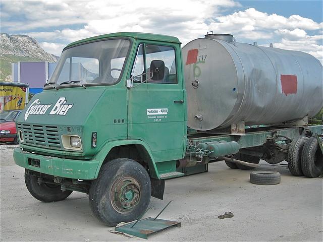 1970s STEYR 690 Tanker