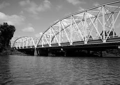 Old Hwy 19 Bridge over Trinity River, Riverside, Texas 1209081547BW