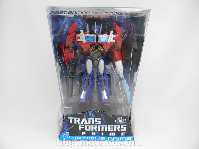 Transformers Optimus Prime Voyager - Prime First Edition - caja