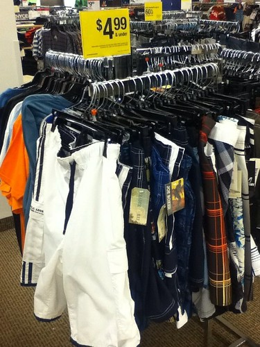 Pants and Tees $4.99 and under at Sears