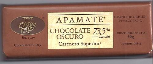 Apamate Chocolate Oscuro 2