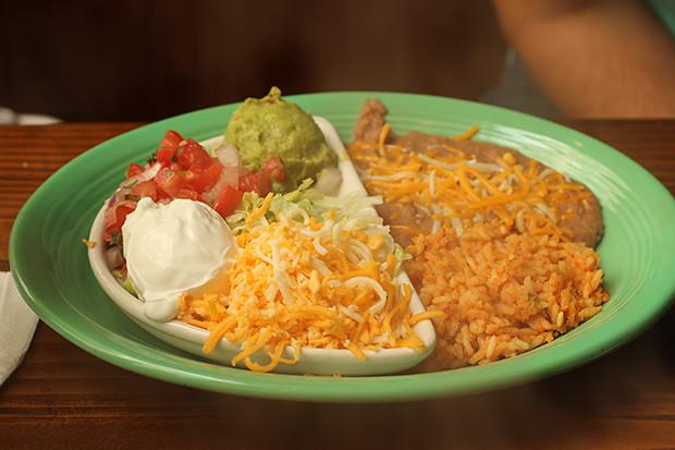 Fajitas Sides, Don Pablo's, Sarasota, FL, Restaurant Review