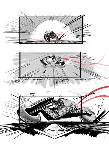 120912(2) - 好萊塢真人電影版《光明戰士 AKIRA》片頭場面的『分鏡表』正式公開......對啦、還有修改的空間啦! (5/7)