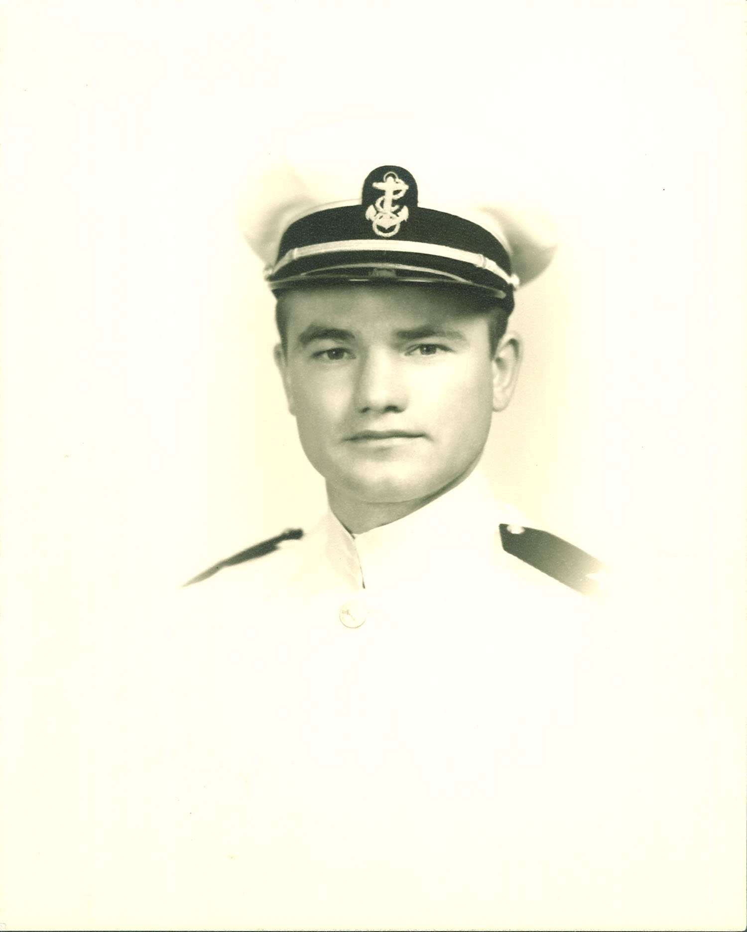 Nile Kinnick in dress whites, 1942 or 1943