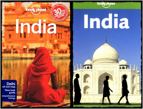A Lonely Planet Guide To India. (Two Covers)