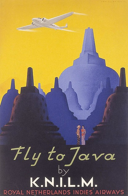 Fly to Java by KNILM. 1938