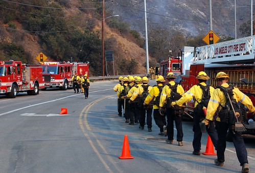 Sepulveda Pass 90 Acre Brush Fire Extinguished