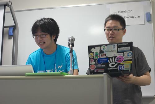 Windows Azure 部長の確認さんとマイクロソフト 武田さん