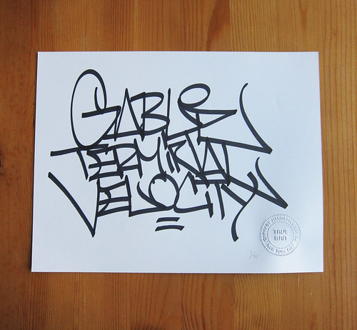 Handstyle Series #4: Gable by sabeth718