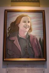 Buenos Aires - Monserrat: Casa Rosada - La Galería de los Patriotas Latinoamericanos - Eva Perón