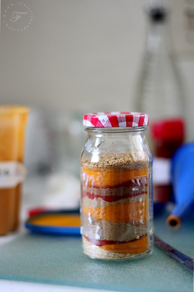 layered curry powder