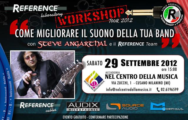 Workshop Tour 2012 - 29 Settembre - Accademia Nel Centro Della Musica - Cusano Milanino (MI) - ZOOM su FLICKR...