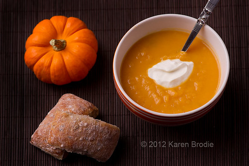 Roasted Butternut Squash Soup by Karen Brodie