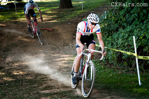 U.S. National Cyclocross Champion Jeremy Powers (Rapha Focus) at Nittany Lion CX