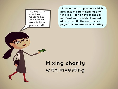 Mixing charity with investing