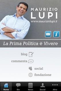 Nuova app Maurizio Lupi Home