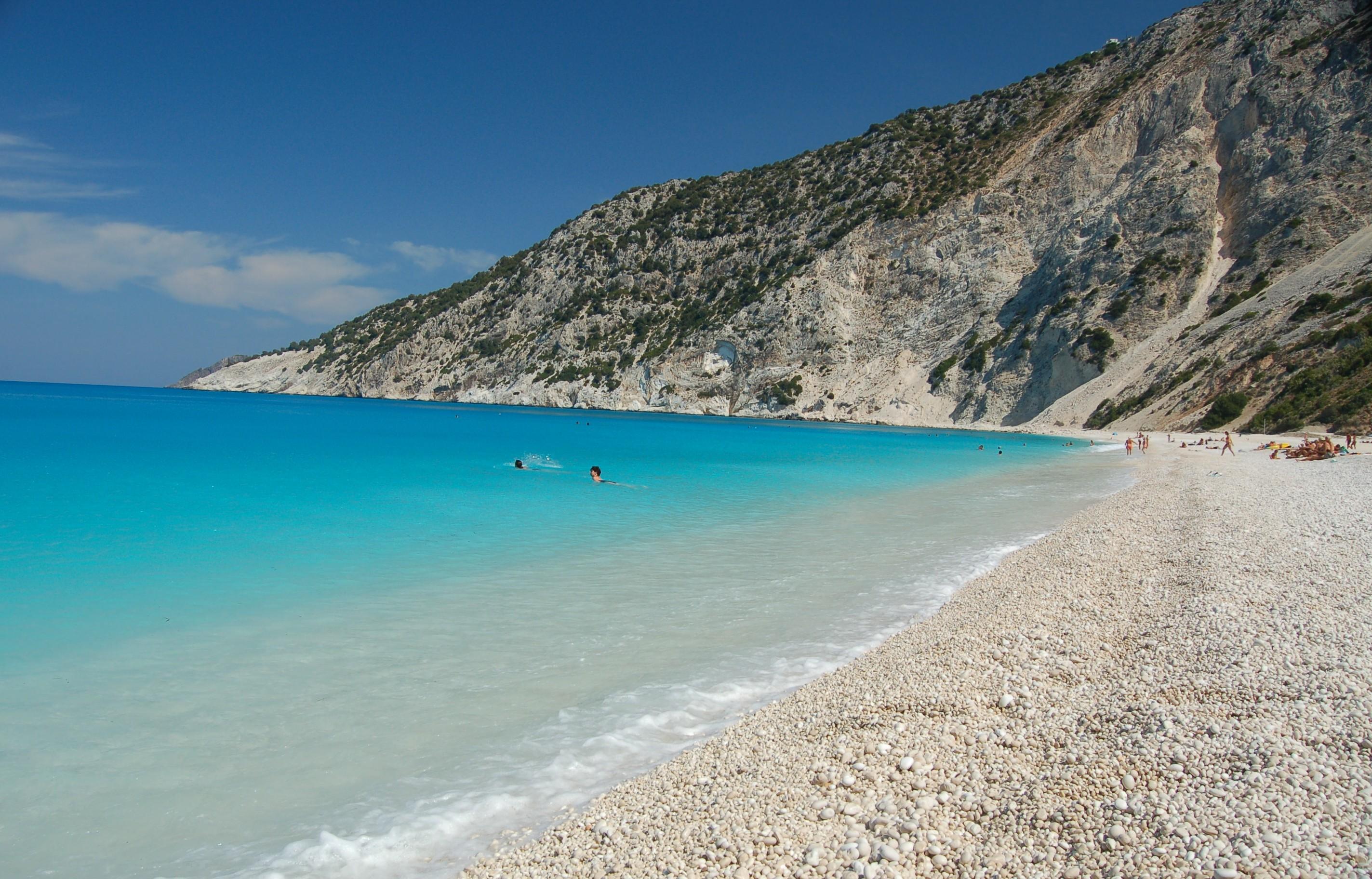 Myrtos Beach  Flickr - Photo Sharing!