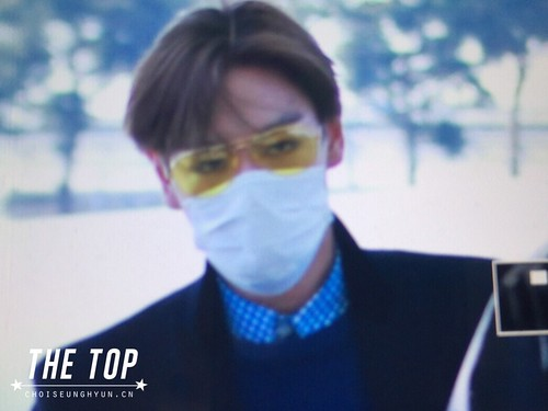 TOP - Incheon Airport - 13mar2015 - The TOP - 01