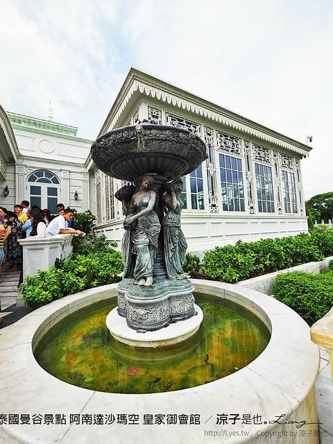 泰國曼谷景點 阿南達沙瑪空 皇家御會館 16