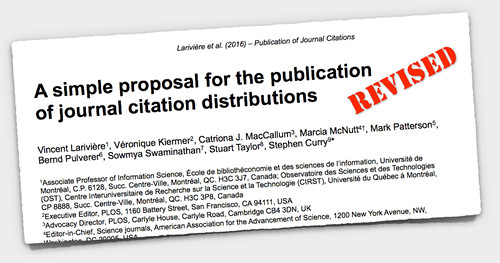 Citation Distribution preprint -revised