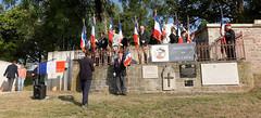 Hommage aux parachutistes libérateurs, Ronchamp, 10 Sept 2016