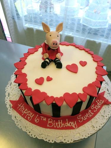 Olivia birthday cake by CAKE Amsterdam - Cakes by ZOBOT