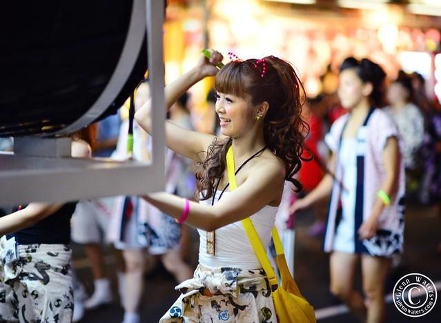 Rena Chan. Kawaii. (Hirosaki Japan). © Glenn Waters Japan 2012. Over 1,000 visits to this photo.