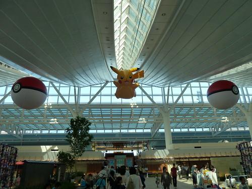 ピカチュウ @ ポケモンセンターなつまつり 2012 in 羽田空港国際線ターミナル