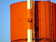 Water tower on Langeman's Kop