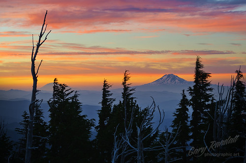 Northern Cascade Sunset