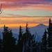 Northern Cascade Sunset by Gary Randall