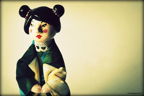 Japanese doll (detail)