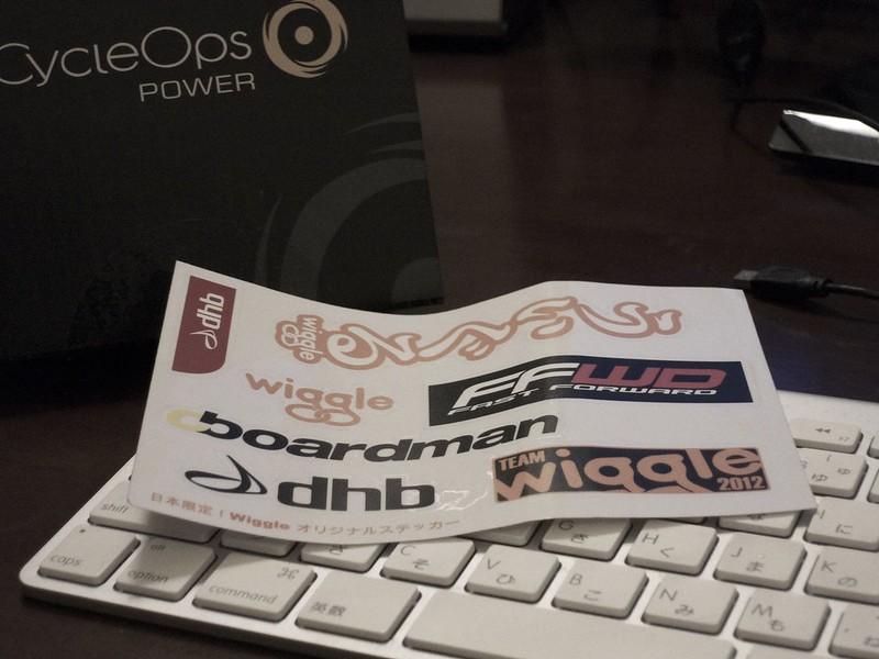 WiggleでCycleOpsのPowerCalを買った