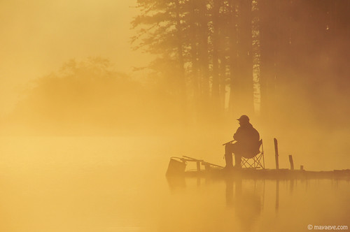 Fisherman's morning mist